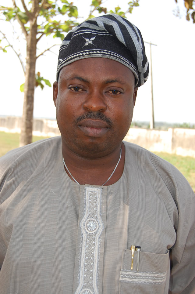 HON TIMOTHY OWOEYE.LEADER OF THE HOUSE ,ILESE EAST