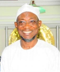 OGBENI RAUF AREGBESOLA, THE GOVERNOR OF THE STATE OF OSUN