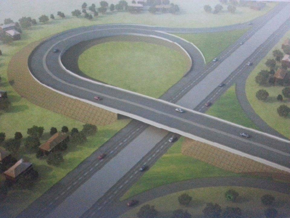Gbongan-Akoda-road