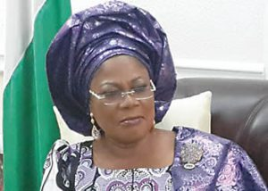 Chief (Mrs) Grace Tomori-Laoye, Dep Gov and Commissioner for  Education, Osun State