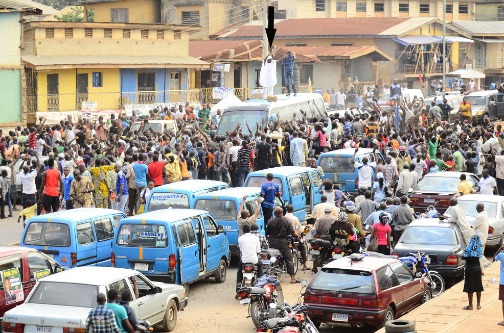 Reactions in Ajegunle -  (1)