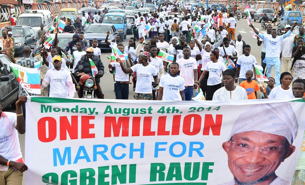 One Million March for Ogbeni-1