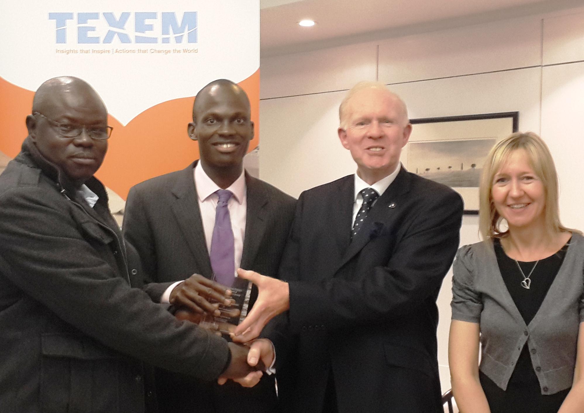 Aregbesola Wins Award in UK-1