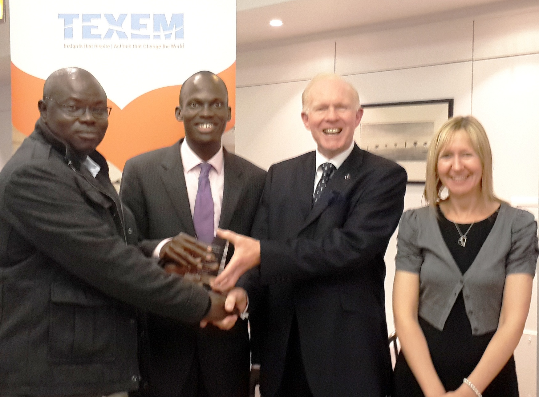 Aregbesola Wins Award in UK-1b