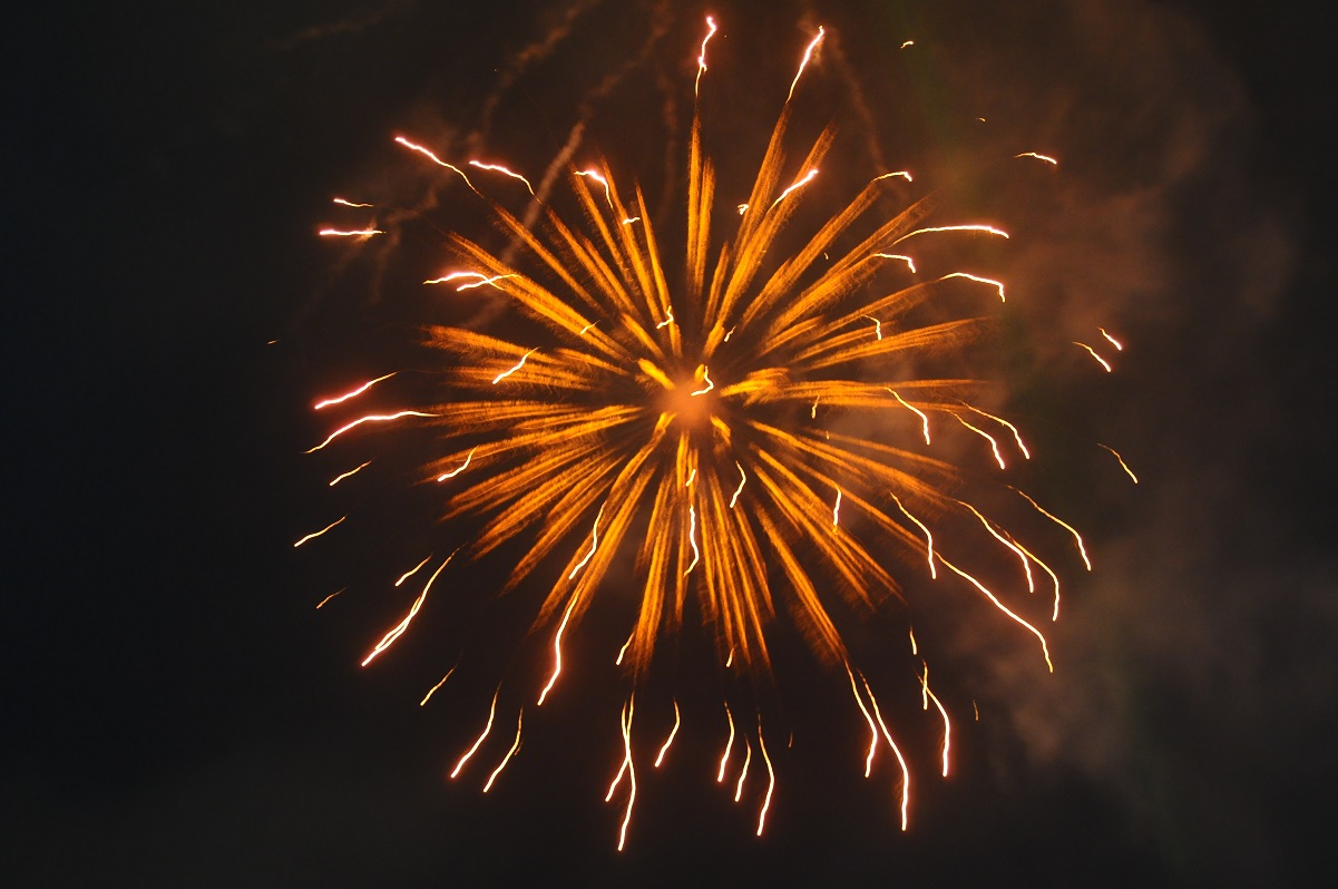 Pyrotechnics and Fireworks Display to Herald the New Hijirah 1436AH at Nelson Mandela Freedom Park, Osogbo, State of Osun on Friday 24-10-2014