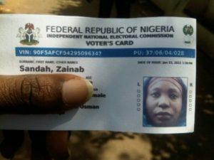 Nigerian-votercard