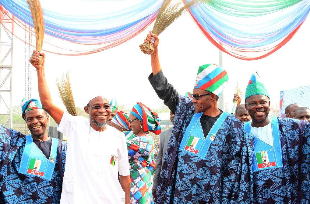 PHOTO NEWS: APC Presidential Campaign Rally In Ogun