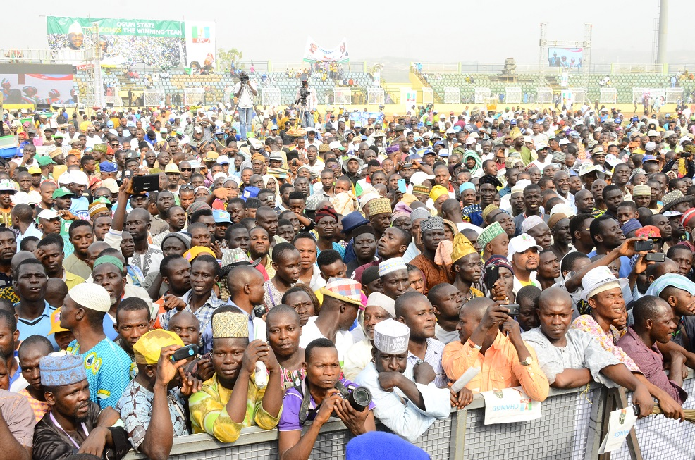 PRESIDENTIAL CAMPAIGN RALLY IN OGUN 5
