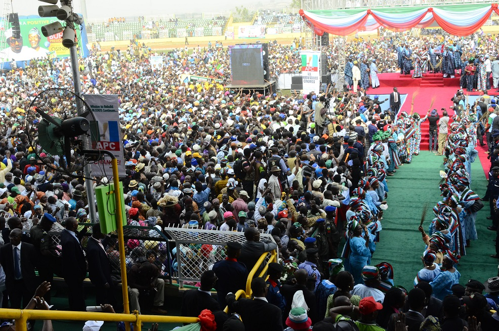 PRESIDENTIAL CAMPAIGN RALLY IN OGUN 6