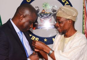 Airtel Management Team Visits Aregbesola 3