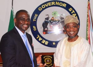Airtel Management Team Visits Aregbesola 4