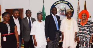 Airtel Management Team Visits Aregbesola 6