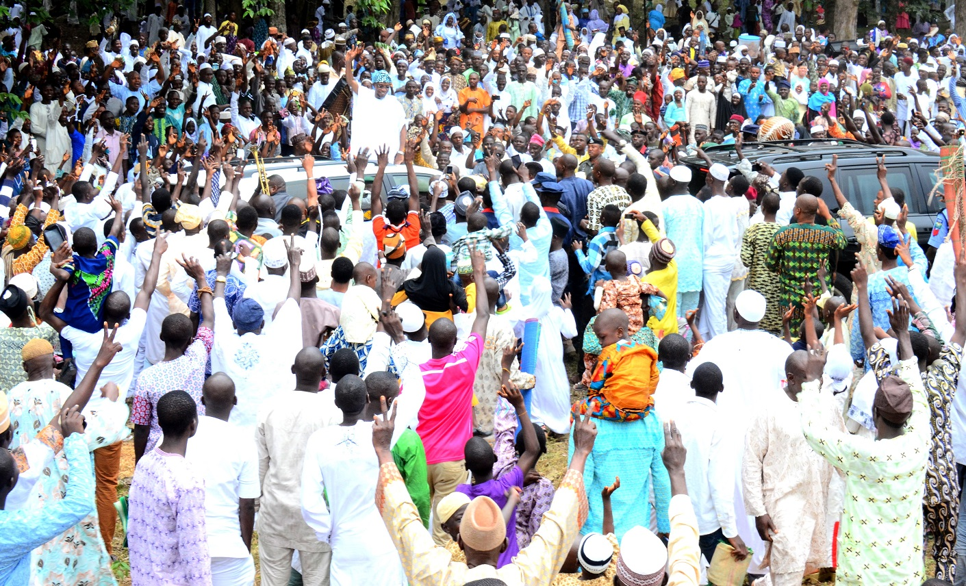 Aregbesola at 2015 Eid-el-fitri 2