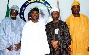 Ijesa  Society Group Visit  Aregbesola 3