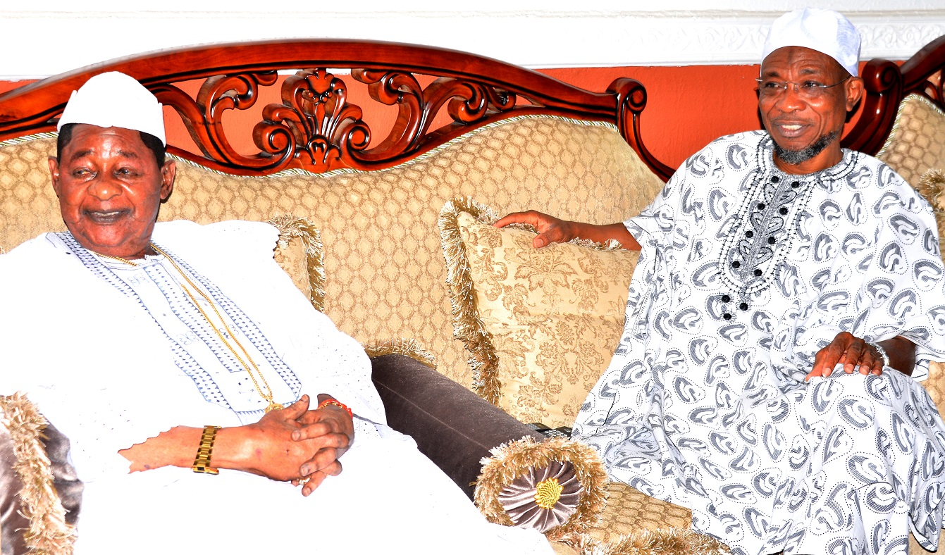 Alaafin of Oyo Visits Aregbesola on Ooni's Transition?????????????????????????
