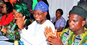 AOPSHON Award to Governor Aregbesola 3