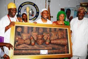 Oni of Ife's visit-2