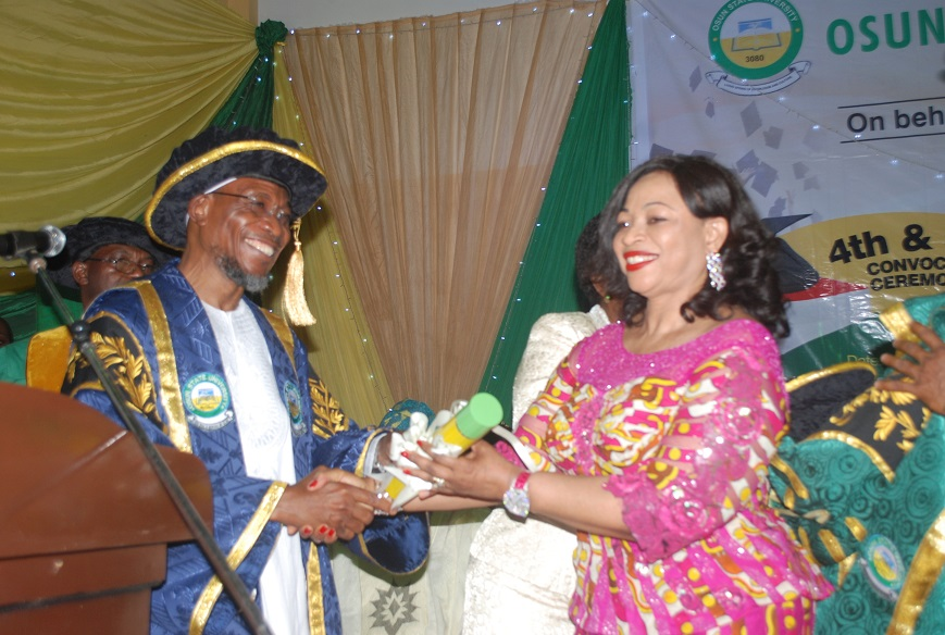 Osun State University, Osogbo 5th Convocation for Award of First Degrees and Installation of Chancellor-1