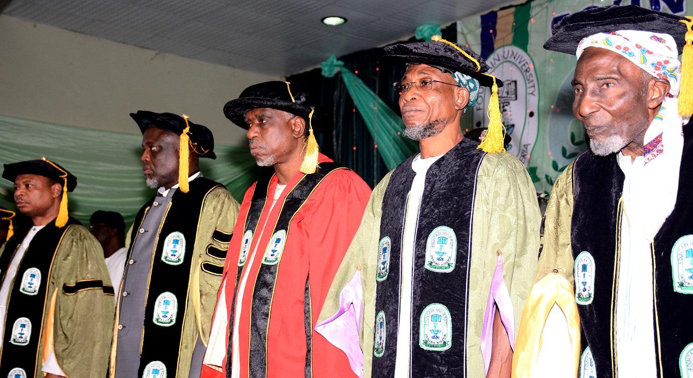6th Convocation Ceremony Fountain University 1