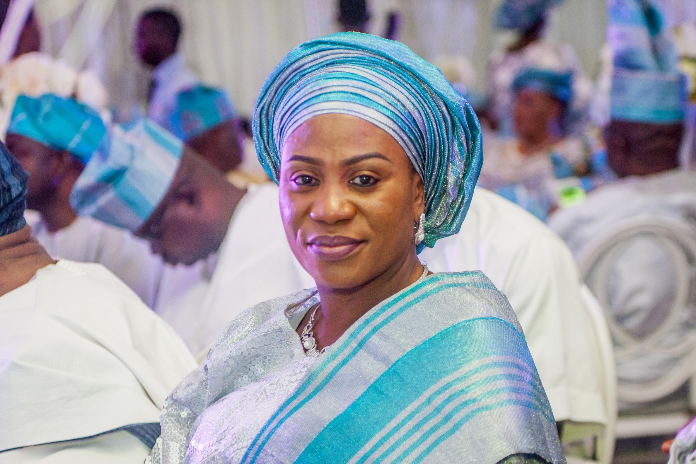 First Lady of Osun State - Alhaja Sherifat Bidemi Aregbesola