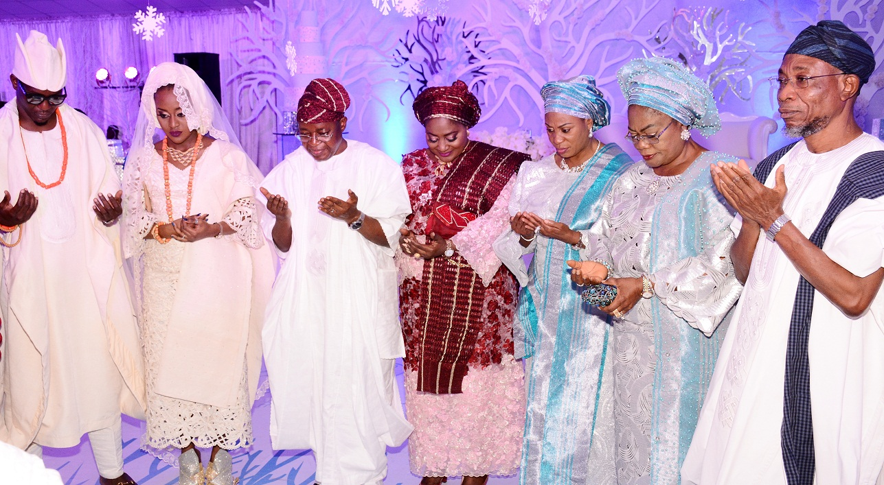 Nikkah Ceremony of the Daughter of Chief of Staff Osun 2