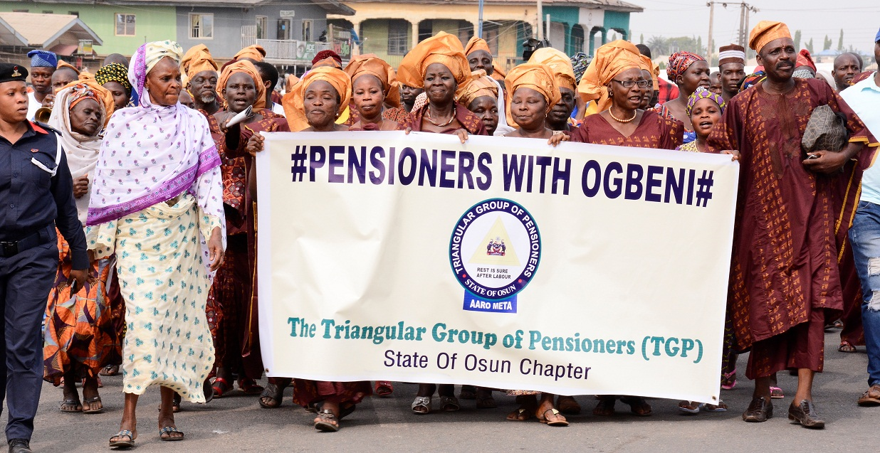 Pensioners with Ogbeni 2