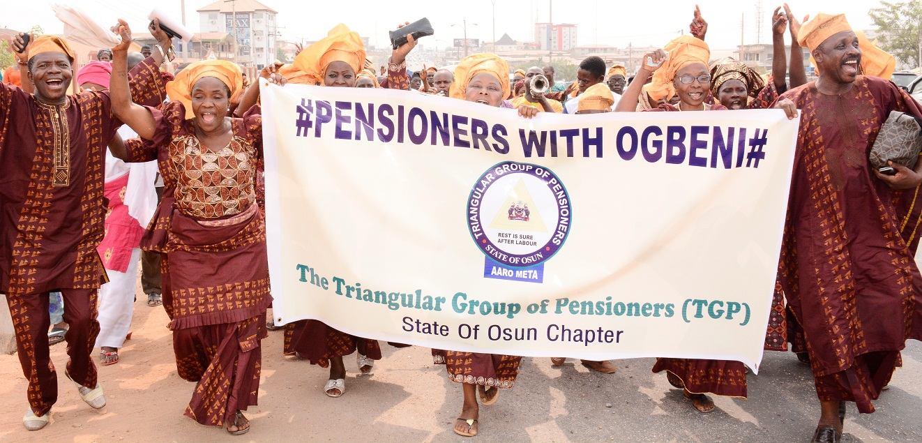 Pensioners with Ogbeni 4